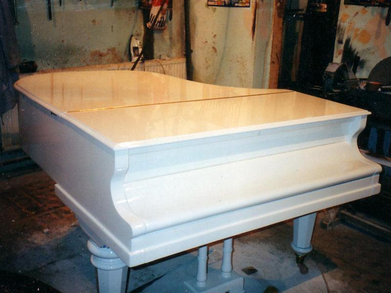 Restaurált zongora